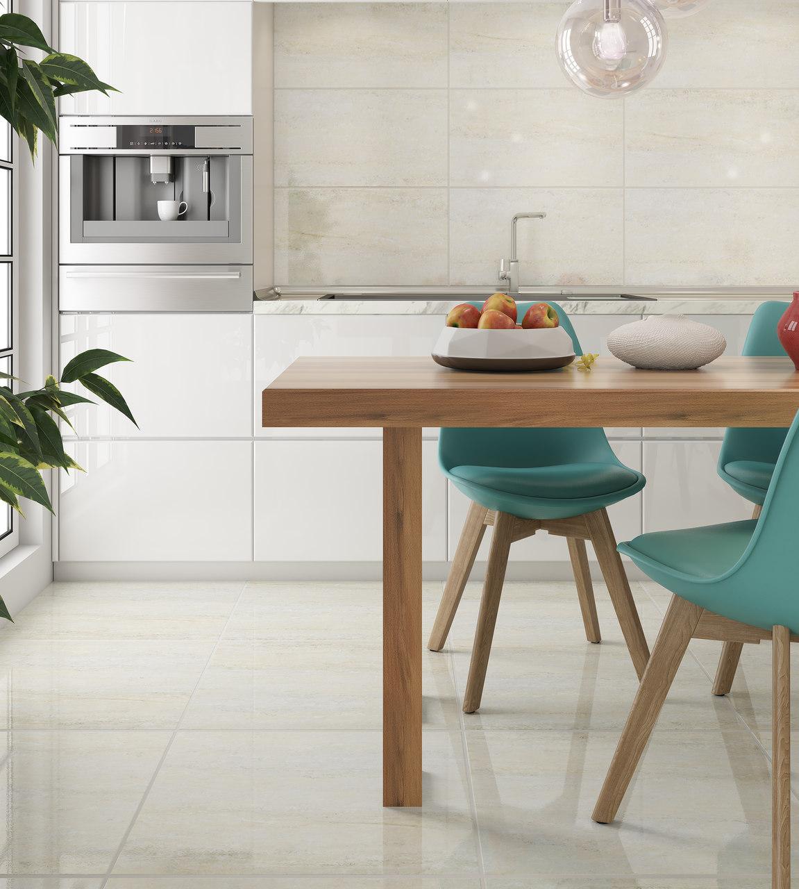 5 dicas para escolher a cor ideal para o piso da sua cozinha